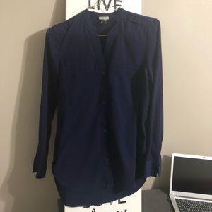 Simple button down blouse
